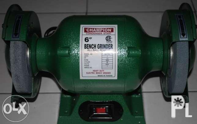 Magnificent Champion 075 Hp Bench Grinder For Sale In Binan City Theyellowbook Wood Chair Design Ideas Theyellowbookinfo