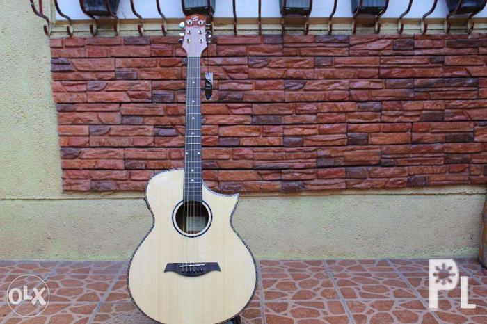 Chard C33 Acoustic Guitar With Pickup For Sale In Quezon City