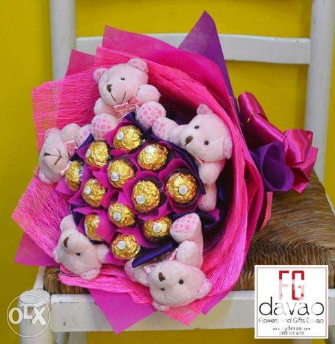 Chocolate Bouquets - Gift Shop Davao
