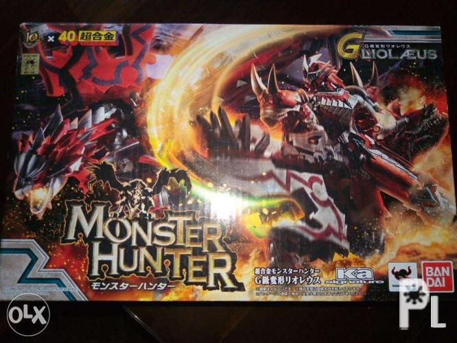 Chogokin Monster Hunter G Rank Leolias Hunter