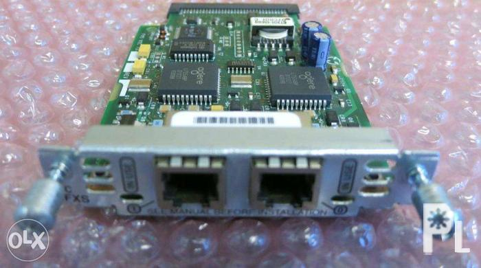 Cisco VIC 2FXS Voice Interface Card