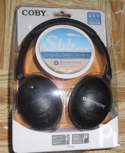 Coby CV-195 Noise Cancelling Digital Stereo Headphones