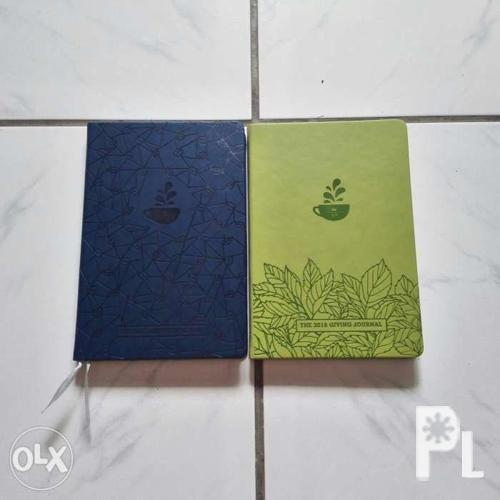 Coffee Bean Planners 2018 - Blue and Green