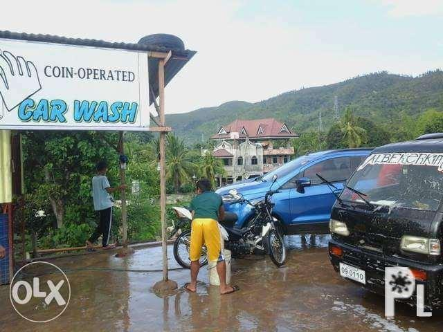 Coin Operated Carwash for Sale in Naga City, Bicol Region