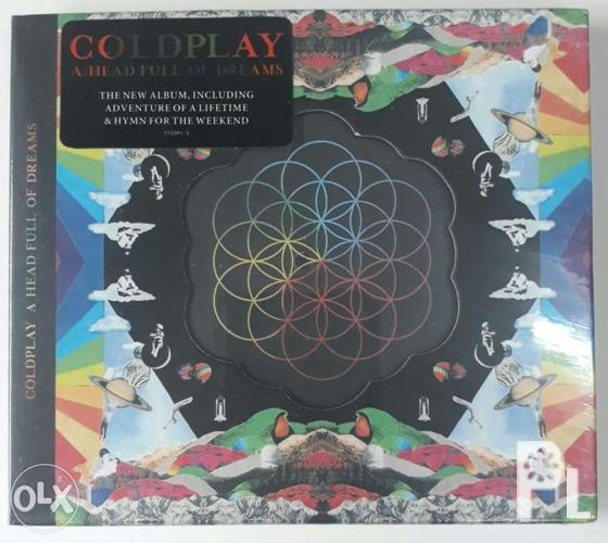 Coldplay A Head Full of Dreams CD OFFER UNTIL MARCH 15