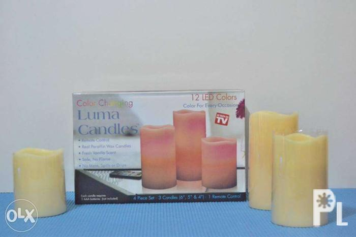 b599014b7a83d Color changing Luma Candles for Sale in Marikina City