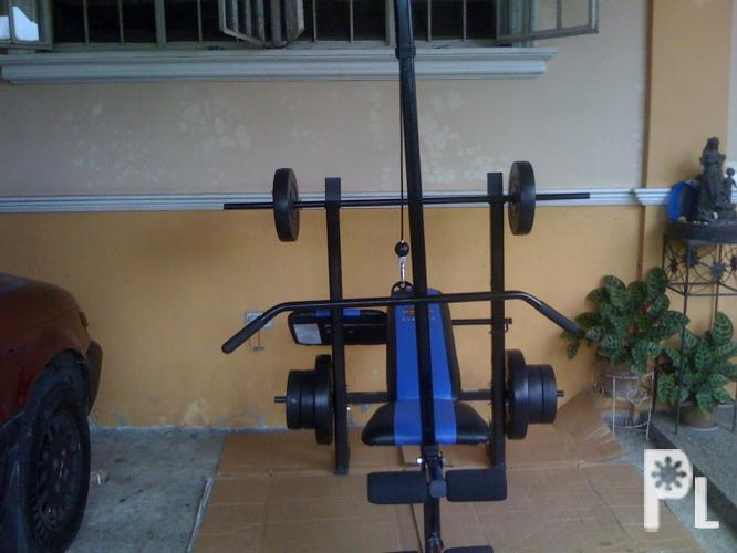 Complete Gym Set Bench Press With Lat Pull Declined 120