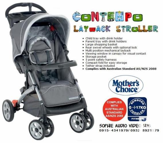 Contempo Layback Stroller by Mother's Choice