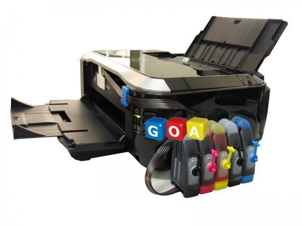 Continuos Ink Installation hp and canon printer in