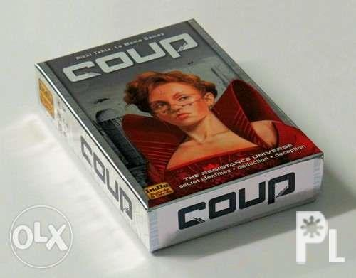 Coup card game board game