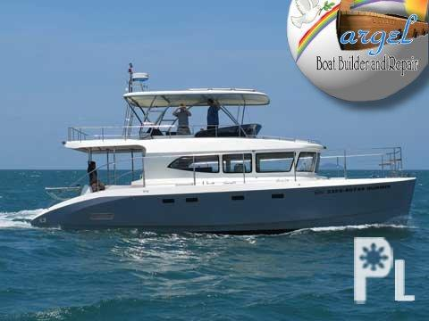 Catamaran fishing yachts pictures to pin on pinterest for Sport fishing boat manufacturers