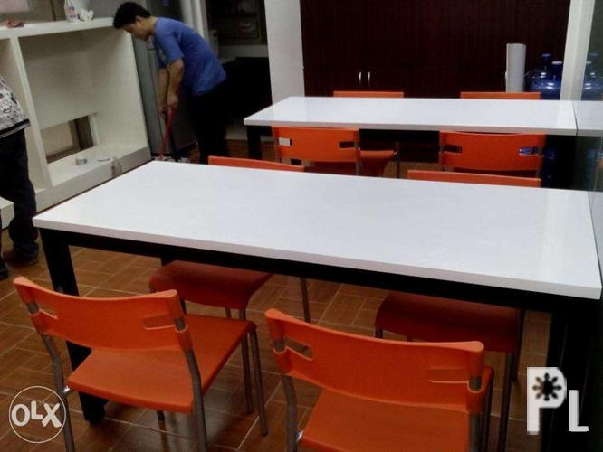 Customized Pantry Table Office Furniture Partition For Sale In Manila National Capital