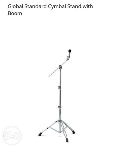 Cymbal stand with boom