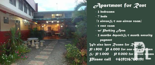DAILY / WEEKLY / MONTHLY STAY ( TRANSIENT ) DAVAO CITY