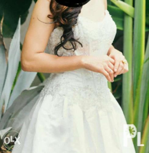 David 39 s bridal wedding gown for rent for sale in cebu city for David bridal rental wedding dresses