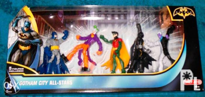 b3652f078e9a DC Comics Batman Gotham All Stars Action Figure 5 Packs for Sale in ...