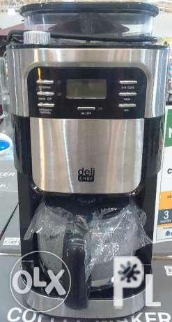 Image Gallery For Deli Chef Grinder And Brew Coffee Maker