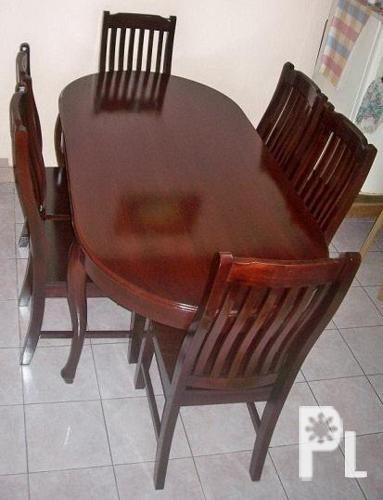 Dining set 6 seaters cebu city for sale in badian central visayas classified Home furniture online philippines