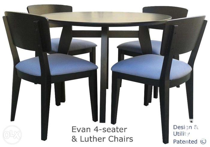 Dining Set Evan 4 seater table with Luther Chairs for  : diningsetevan4 seatertablewithlutherchairs3807796 from manila.philippineslisted.com size 700 x 490 jpeg 179kB