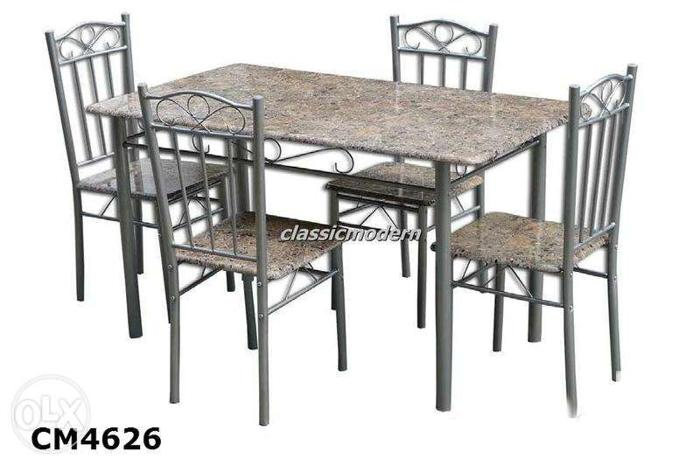 Dining table with 4 chairs 4626 dining set 4seater