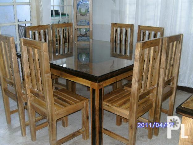 Dining Table Wood Furniture For Sale In Las Pi As City National Capital Region Classified