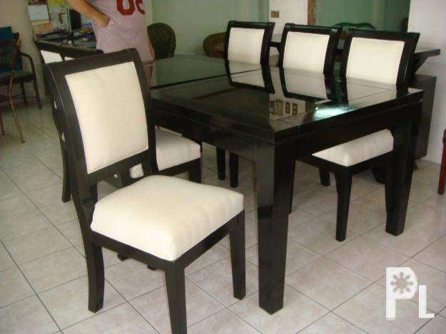 Dining Wood Set Furniture Upholstery Chairs For Sale In