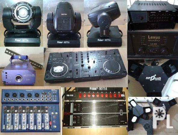 dj equipment for sale for sale in general trias calabarzon classified. Black Bedroom Furniture Sets. Home Design Ideas