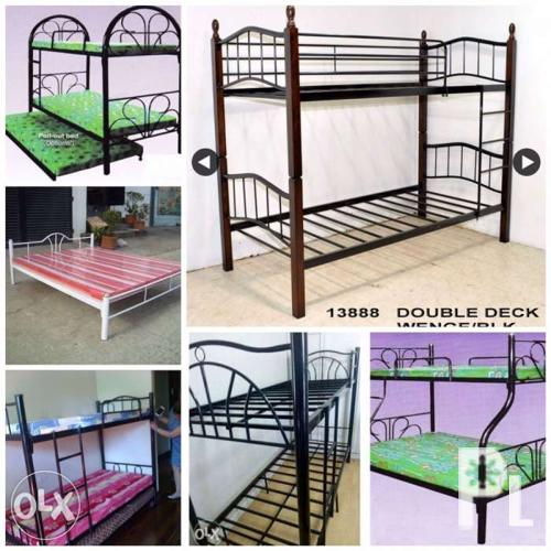 Double deck bed sofa bed lowest price for sale in manila for Double deck bed for sale
