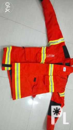 Drager fire suit