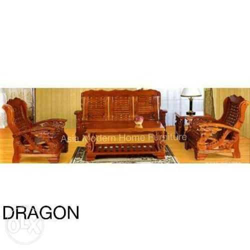 Dragon Sala Set 311 Malaysian Wood For Sale In Quezon