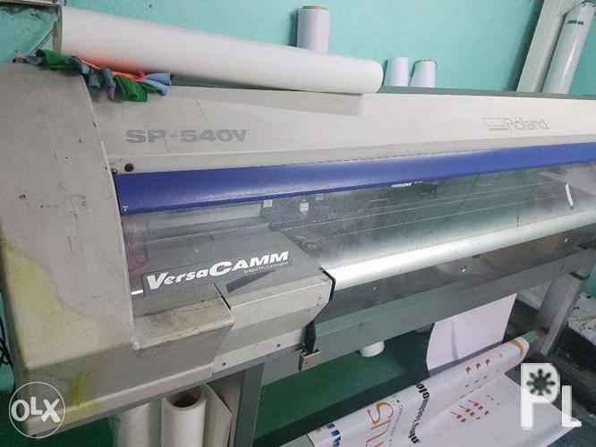 Eco Solvent Printer and Cut