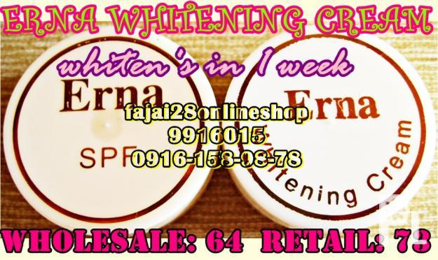 ERNA WHITENING CREAM cheapest price (authentic)