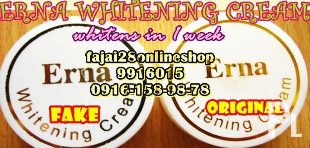 ERNA WHITENING CREAM supplier