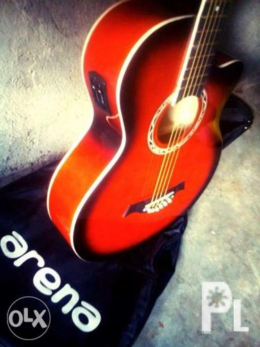 Factory Price Arena And Davis Acoustic Guitar For Sale In Quezon