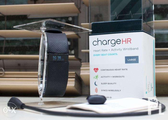 how to use fitbit charge hr dongle