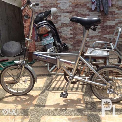 Folding bike with sidecar for Sale in Meycauayan City, Central Luzon