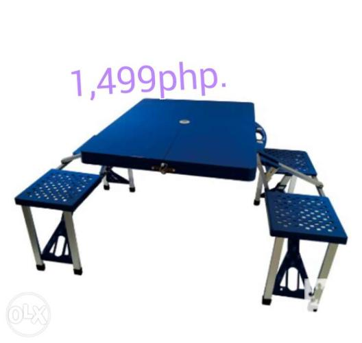 Folding Table And Chair Portable For Sale In Manila National Capital Region