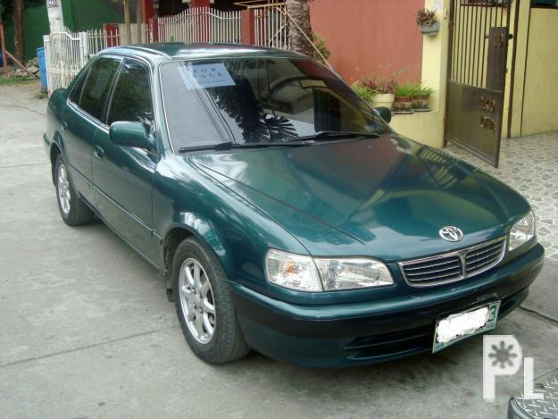 for sale 99 model toyota corolla gli matic for sale in las. Black Bedroom Furniture Sets. Home Design Ideas