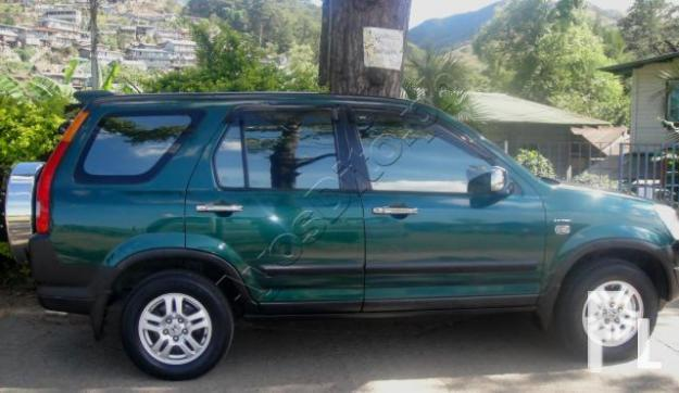 for sale honda crv 2003 model 1st own green manual fresh for sale in tublay cordillera. Black Bedroom Furniture Sets. Home Design Ideas