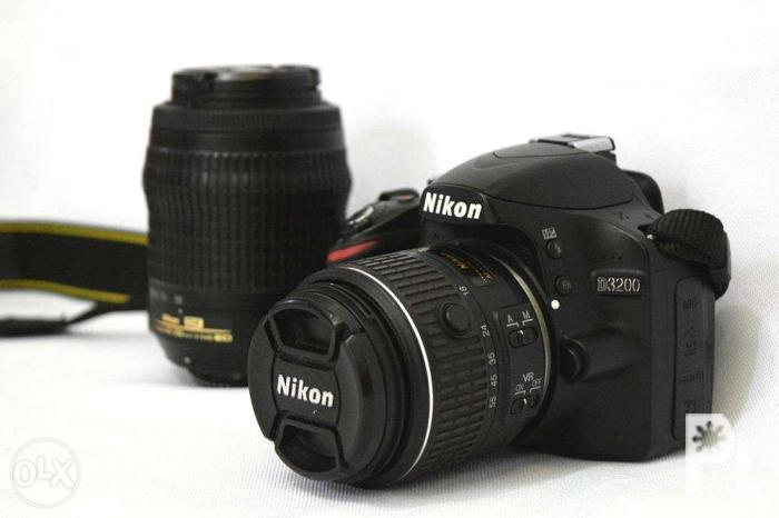 For Sale! Nikon D3200 With 2 Lenses Included (11K
