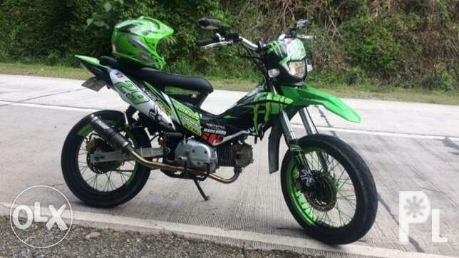 For sale XRM motard 125 modified inspired by monster