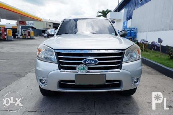Ford Everest 2010 Automatic Diesel AT not fortuner