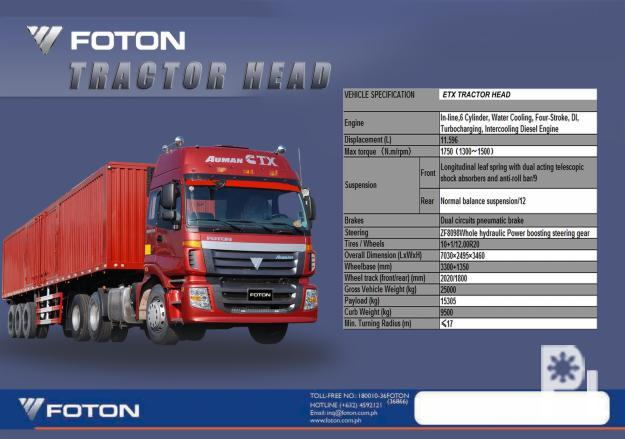 Foton Motor Phils For Sale In Quezon City National