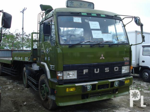 Fuso SQUARE LIGHT 6 Wheeler Tractor Head W 10DC11 Engine