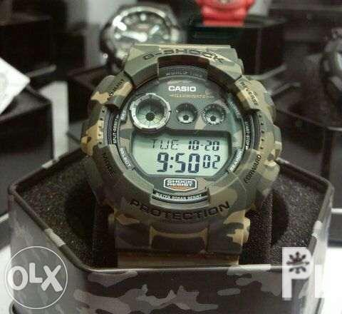 G Shock Camouflage Limited Edition Gd 120cm 5 For Sale In Pasay
