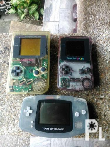 Game boy, Gameboy color, gameboy advance for Sale in Manila