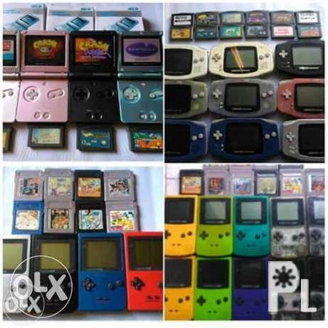 Gameboy classic pocket color advance sp micro for Sale in