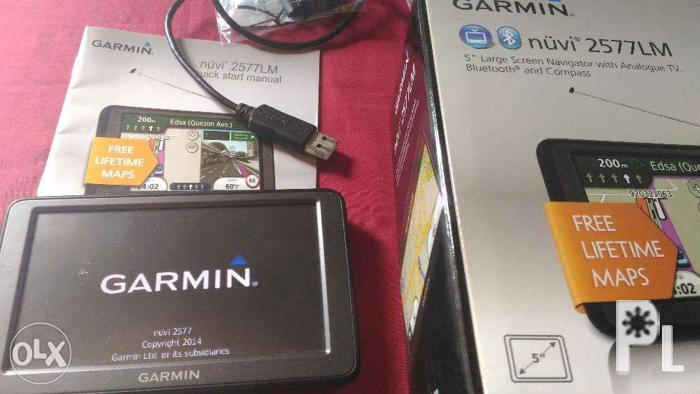 Garmin nuvi 2577LM GPS and Analog TV in one Design for Sale