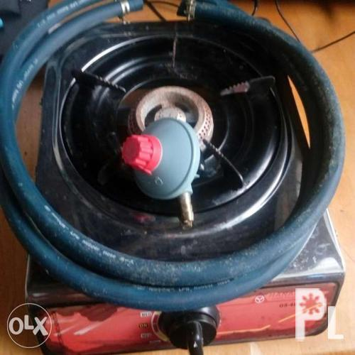 Gas Stove with regulator and hose