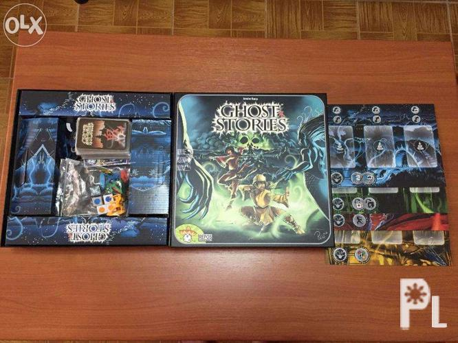 GHOST STORIES board game (with FREE card sleeves) for Sale